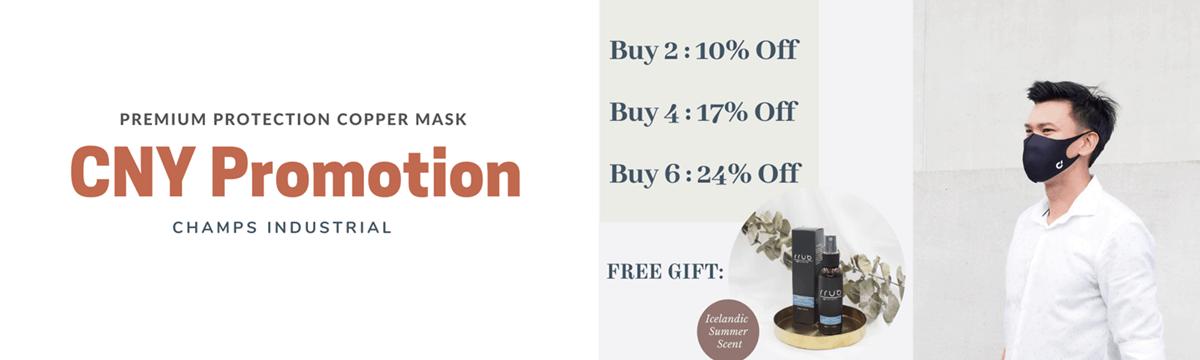 CNY PROMOTION - mask